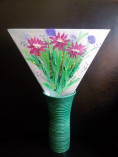 Estas flores han volado a Colombia y siguen igual de frescas : )