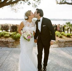 Sealed with a kiss!  as featured on @snippetandink photo: @abryanphoto   design: @calderclark   florals: @blossomsevents  venue: @pphgevents #lowndesgrove #ceremony #petaltoss #petals #lowcountry #charleston #wedding #weddings #destinationwedding #luxurywedding #plantation #plantationwedding #ceremony #charlestonwedding