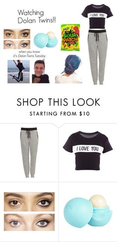"""""""Watching Dolan Twins!!"""" by toribabe1990 ❤ liked on Polyvore featuring Dolan, Lovers + Friends, Charlotte Tilbury, River Island and hotie"""