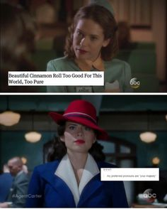 Agent Carter and text posts