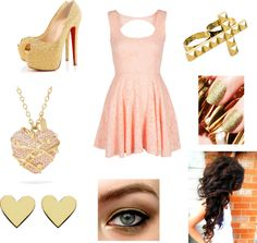 """""""Nya's Graduation Dress"""" by love2act947 ❤ liked on Polyvore"""