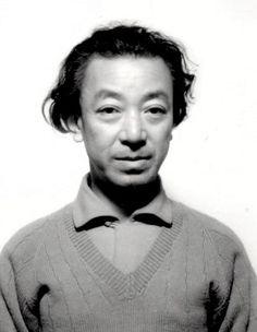 山本悍右像 1960. Portrait of Kansuke Yamamoto