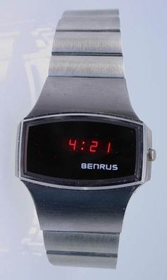 Benrus LED Watch