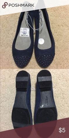 Women's Flat Shoes 8.5 Blue Self Esteem Brand Women's Flat shoes size 8.5, NWT. Self Esteem Shoes Flats & Loafers