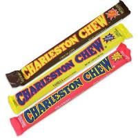 Charleston Chew: Which I'm pretty sure inspired the names of my adopted cats: Charleston and Chewy