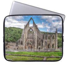 Tintern Abbey, Cistercian Monastery, Wales Laptop Sleeves