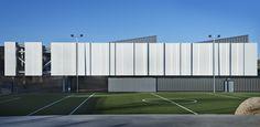 Arch Building, Building Exterior, Building Design, Factory Architecture, Facade Architecture, Madrid, Warehouse Design, Public Space Design, Industrial Architecture
