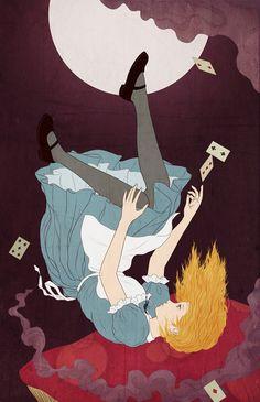 Alice in wonderland #イラストレーション#illustration