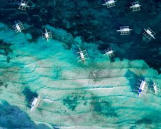 Doljo coastline and boats aerial Bohol Philippines, Boats, Places, Movies, Movie Posters, Ships, Films, Film Poster, Cinema