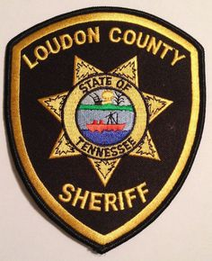 Loudon County Tennessee TN TENN Police Sheriff Patch