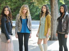 I love Pretty Little Liars just for their clothes... Really that's basically it.