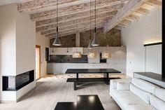 Historic Farm Converted Into Welcoming Contemporary Retreat in La Cerdanya, Spain
