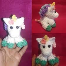 Ravelry: Tiny unicorn amigurumi pattern by Ahooka Migurumi | 225x225