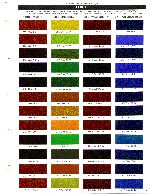 house of color paint chips   ...