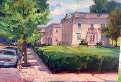 Dee Beard Dean's Virginia Museum of Fine Arts in the 2014 Richmond Plein air event