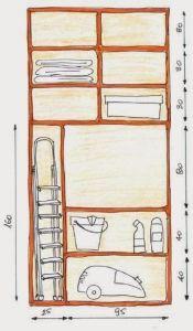 Garderoba - część 5 - ergonomia - dobrze zorganizowana Storage Room, Sweet Home, Towel, Interior, Furniture, Arrow Keys, Close Image, Home Decor, Houses