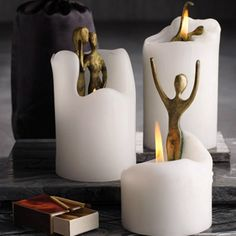 Cool candles, would make a great gift