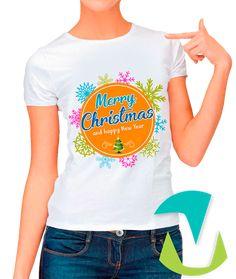 DESIGN FOR T-SHIRTS MERRY CHRISTMAS  - #mottaplantillas #design #sublimationMerry Christmas Template, Merry Christmas And Happy New Year, Christmas Shirts, Design, Etsy, Cricut, Women, Fashion, Cape Clothing