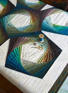 Jinny Beyer: Friendship quilt for her son's wedding