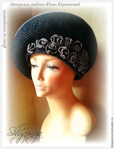 """Купить Шляпа """"Чайные розы"""" - бежевый, орнамент, шляпка, шляпа, шляпка женская, шляпа с полями"""
