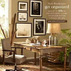 Pottery Barn Office Den Home E Guest Room Study