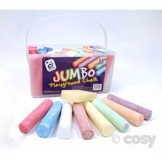 PLAYGROUND CHALK (JUMBO) - Art and Creative Expression - Cosy Direct