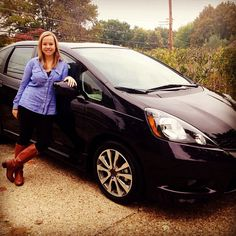 """""""Just picked up my new baby! #hondafit2013 #midnightplumpearl #calypso"""" Photo taken by @jscahill on Instagram, pinned via the InstaPin iOS App! http://www.instapinapp.com (10/19/2013)"""