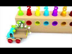 (101) Čísla a barvy pro děti cz - YouTube