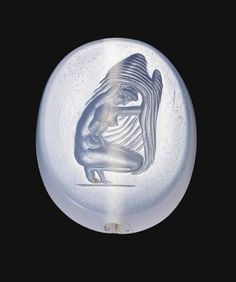 A GREEK BLUE CHALCEDONY SCARABOID CLASSICAL PERIOD, CIRCA 4TH CENTURY B.C. | Christie's