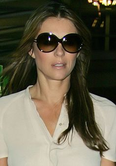 Elizabeth Hurley - She was cool... just not famous enough to hang