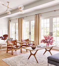 Architectural Digest | Pilar Guzmán & Chris Mitchell's East Hampton Home.