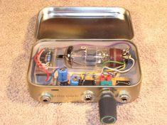 Portable Tube Headphone Amp Electronic Kits, Electronic Schematics, Audiophile Headphones, Audio Amplifier, Electronics Basics, Electronics Projects, Radios, Hack Internet, Fm Band