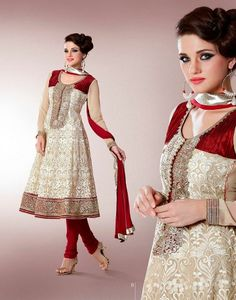 Salwar Kameez Suit Unstitched Indian Bollywood Partywear Suits | eBay  Possibly for Simran's Wedding