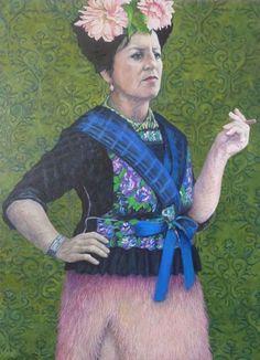 """Pauline Luijben, """"zelfportret"""""""