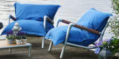 zitzak fauteuil lavendel