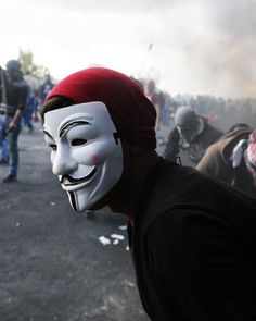 Anonymous declares war following this weekend's attack on Paris