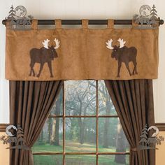 Curtains For Livingroom? Log Home DecoratingRustic ...