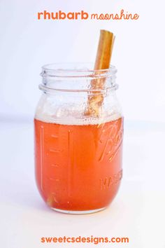 Rhubarb Moonshine is a delicious, easy to make drink centered around summers classic rhubarb sweet and tart flavor. Great to mix into cocktails or soda.