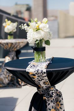 A Gatsby Styled Nevada Museum of Art Roof Top Inspiration Shoot | Fab You Bliss