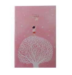 Cuaderno cuento de Hadas rosa