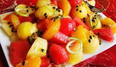 Surinaams eten – Melon Passiegeade (luxe gezond fruit dessert)
