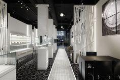 EVANCE luxury watch shop by Ichiro Nishiwaki Design Office, Tokyo – Japan watches luxury Jewelry Store Displays, Retail News, Retail Interior Design, Retail Concepts, Luxury Shop, Tokyo Japan, Store Design, Architecture, Shopping