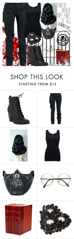 """To End Or Not To End"" by dev-lynn ❤ liked on Polyvore featuring Bettie Page, BKE, Poizen Industries, ZeroUV and McCoy Design"
