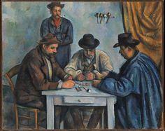 The Card Players Artist: Paul Cézanne (French, Aix-en-Provence 1839–1906 Aix-en-Provence) Date: 1890–92 (The Met)