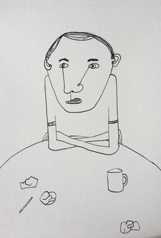 Friends who play mind games are not true friends. Illustration, people, portraiture drawing.