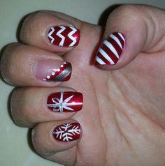 Christmas Holiday Nail Art