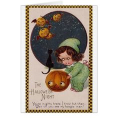 vintage halloween cards - Yahoo Image Search Results