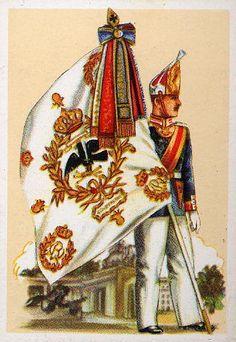 Colours of the Emperor Alexander Guards Grenadier Regiment No. 1