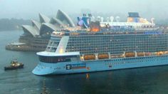 Ovation of the Seas, the biggest cruise ship based in Australia, arrives in Sydney Royal Caribbean International, Royal Caribbean Cruise, Biggest Cruise Ship, Shore Excursions, South Pacific, Cruise Vacation, Culture Travel, Seas, Singapore