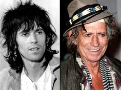 Keith Richards - what price drugs,fags and alcohol!
